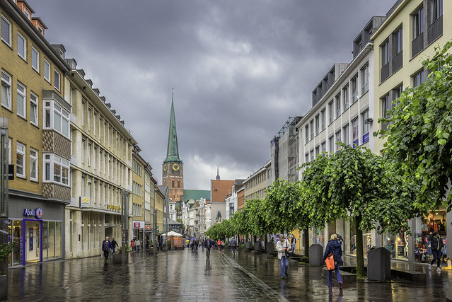 A Rainy Day In Luebeck