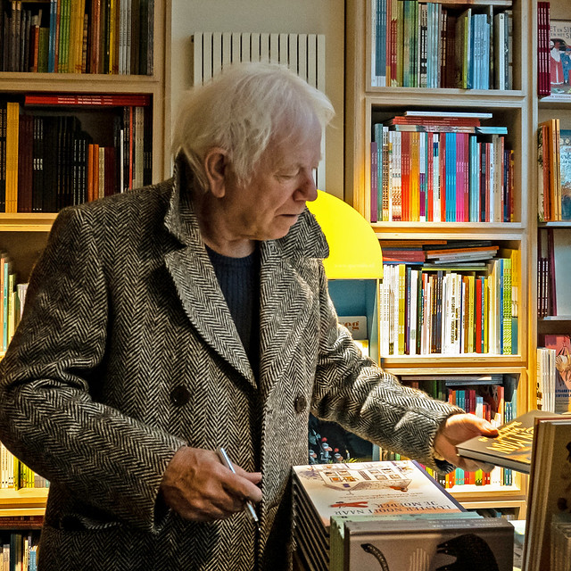 Tony Ross in bookstore October 2019