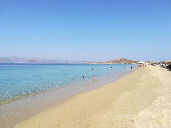 plage en fin de matinée