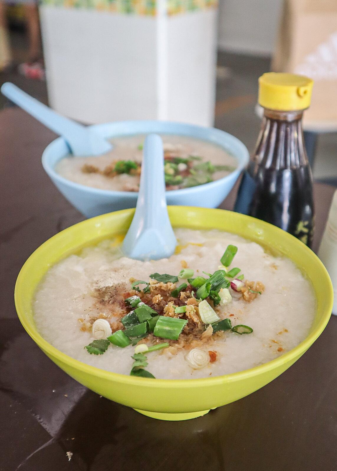 fish porridge portrait