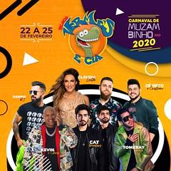 Pacote  Bloco Vermes & Cia Carnaval 2020