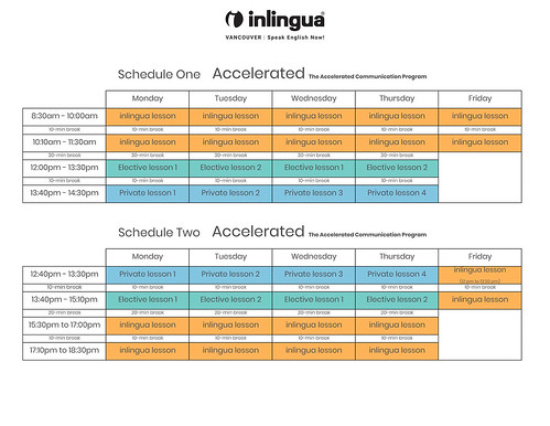 Accelerated-Communication-ACP-English-course-schedules