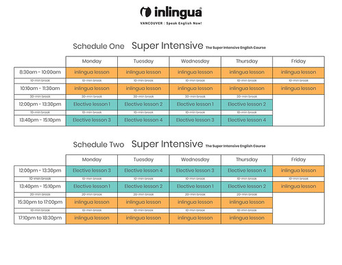 Super-Intensive-English-course-schedules