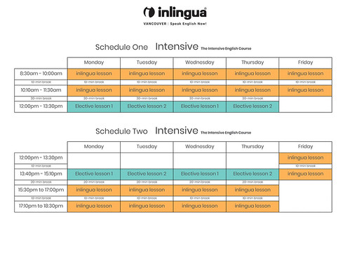 Intensive-English-course-schedules