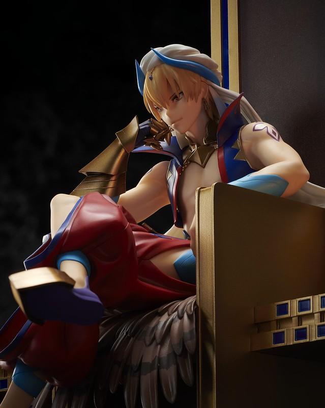 烏魯克的賢王登上王座!ANIPLEX+《Fate/Grand Order》Caster/吉爾伽美什(キャスター/ギルガメッシュ)1/8比例模型