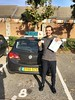 Congrats to Andrie on passing his driving test this morning at Isleworth 1st time! Well done!:red_car::red_car::red_car::red_car::red_car: