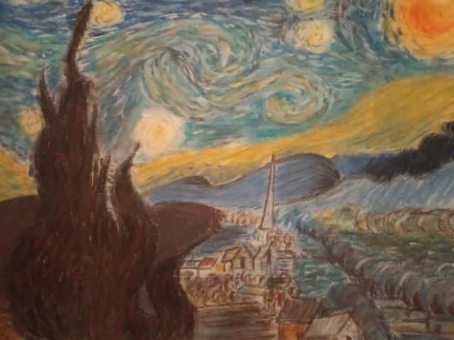 Noche estrellada van Gogh