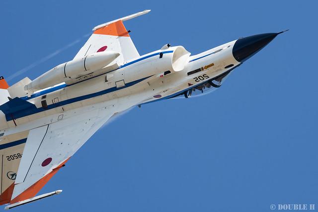 JASDF Komatsu AB Airshow 2019 (109) Demonstration Flight - ADTW F-2