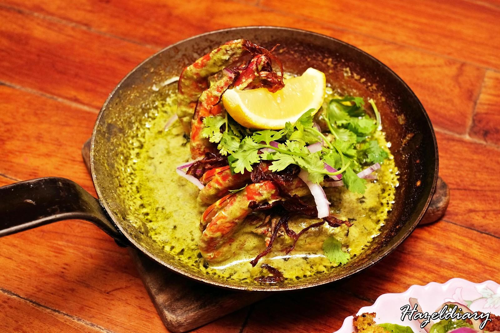 Artichoke by Chef Bjorn Shen-Green Harissa Prawns