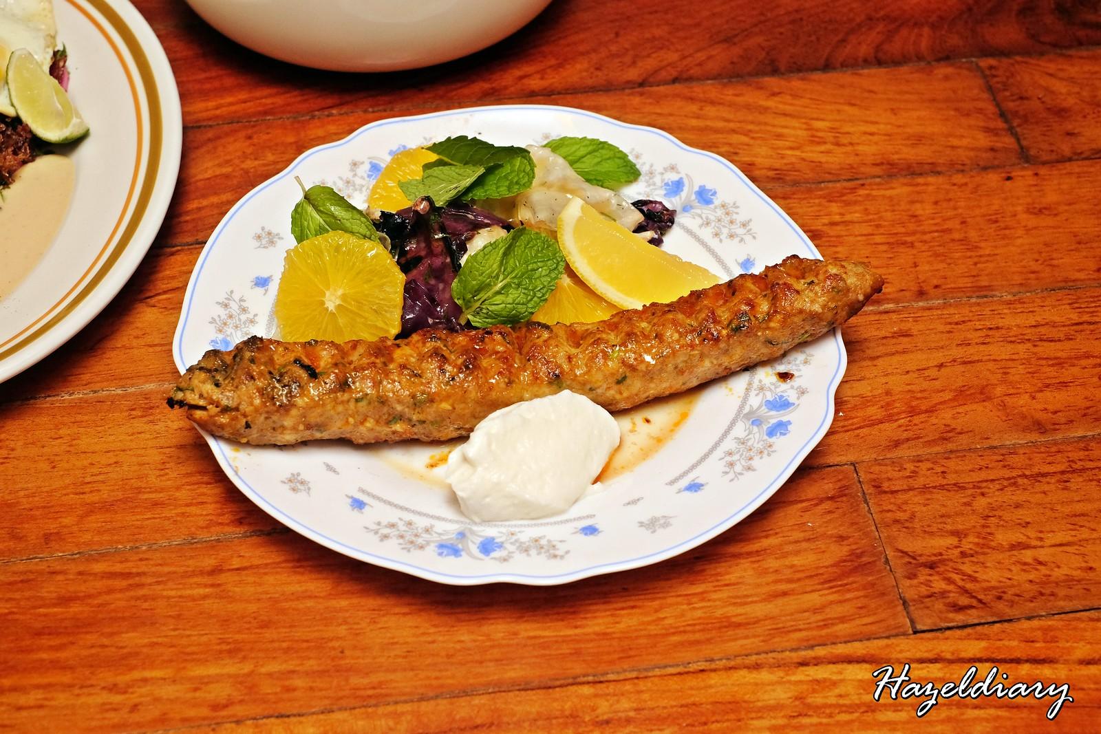 Artichoke by Chef Bjorn Shen-Chicken Urfa Kebab
