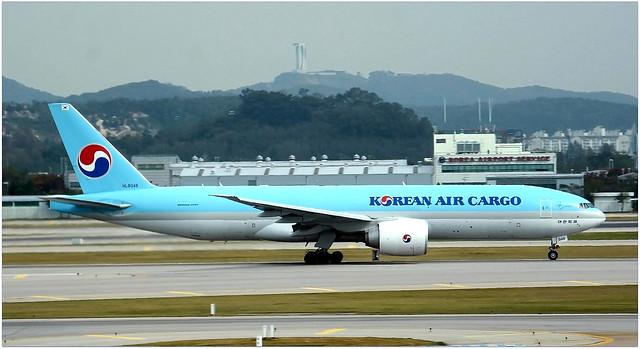 HL8046   Boeing 777-FB5   Korean Air Cargo.