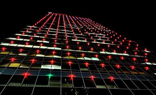 lights nightview urban city