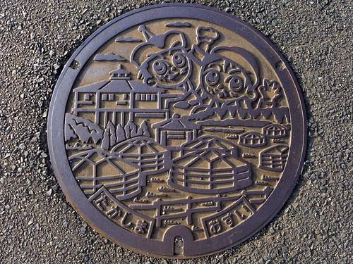 Takashima Nagasaki, manhole cover 2 (長崎県鷹島町のマンホール)