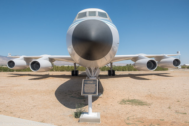 Aircraft on static display at Mohave Air and Space Port
