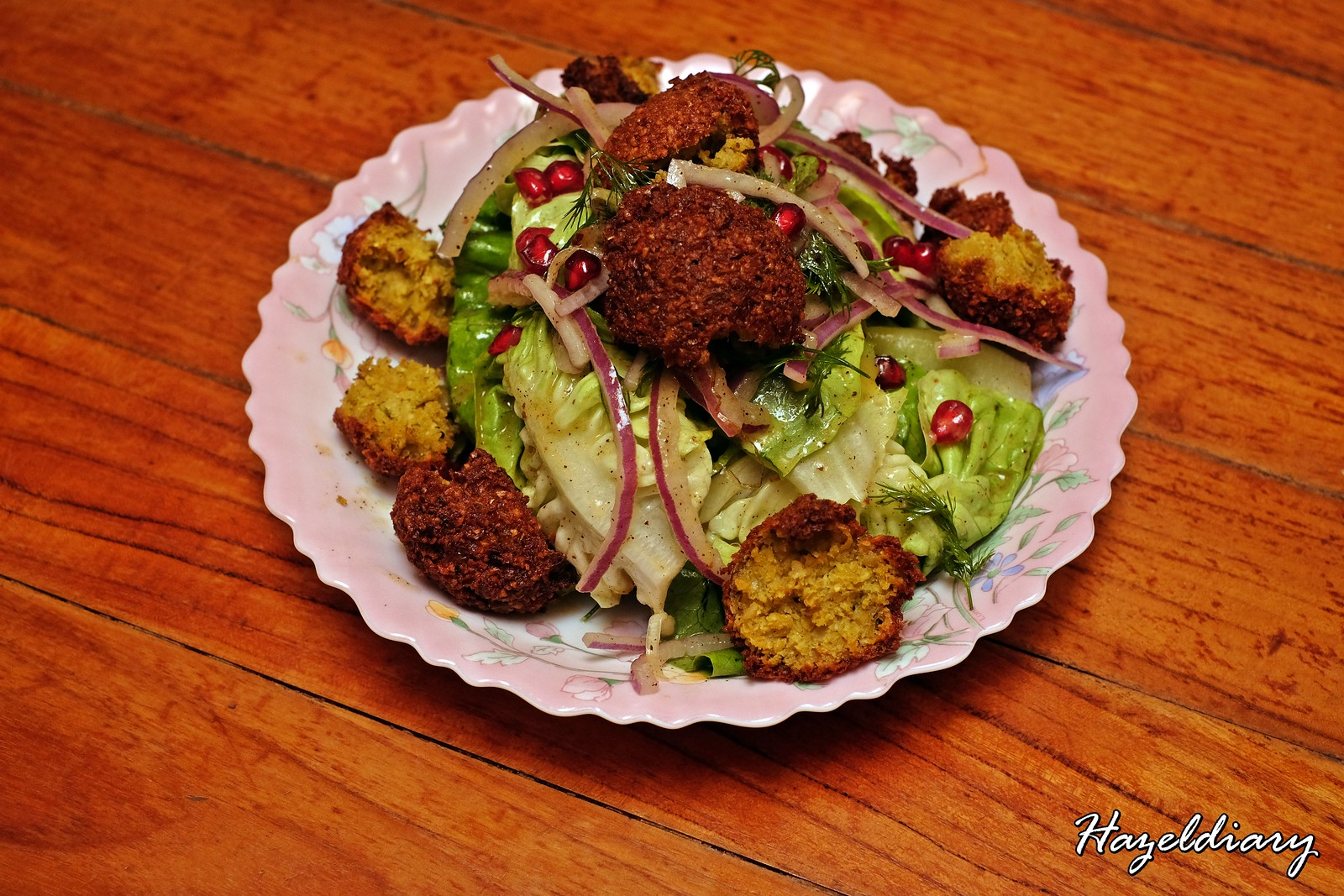Artichoke by Chef Bjorn Shen-Falafel Salad