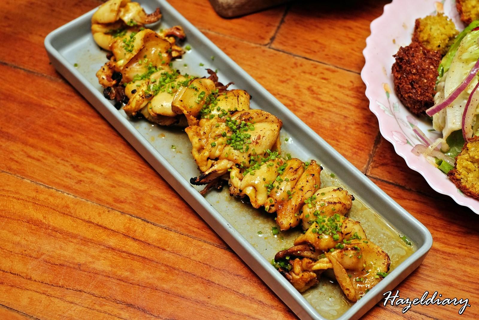 Artichoke by Chef Bjorn Shen-Cuttlefish Shawarma