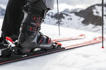 Sjezdové boty Atomic Hawx: pohled z 360°