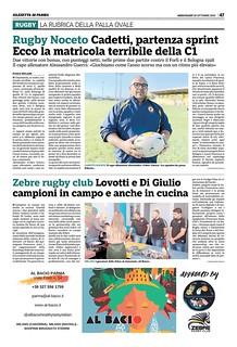 Gazzetta di Parma 30.10.19 - pag 55