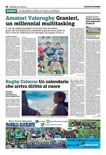 Gazzetta di Parma 30.10.19 - pag 54