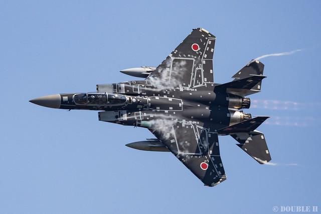 JASDF Komatsu AB Airshow 2019 (62) Maneuver Flight - Aggressor