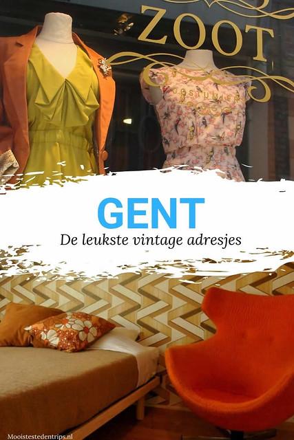 Retro en vintage in Gent: de leukste vintage adresjes in Gent | Mooistestedentrips.nl