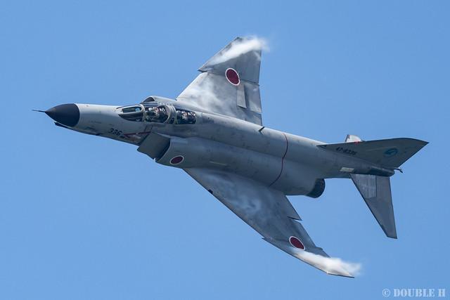 JASDF Komatsu AB Airshow 2019 (104) Demonstration Flight - ADTW F-4