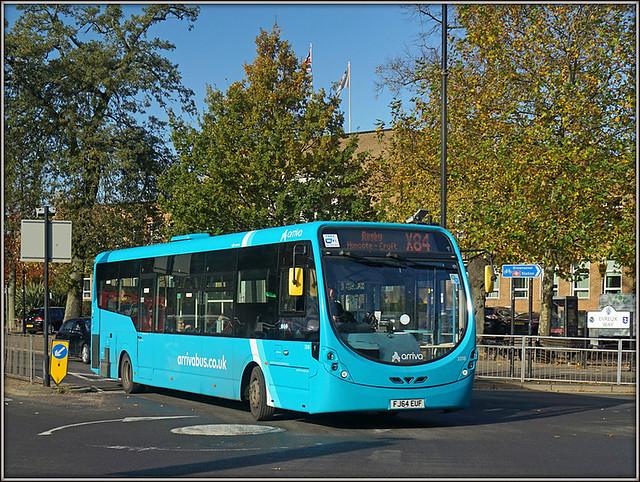 Arriva Midlands 3318