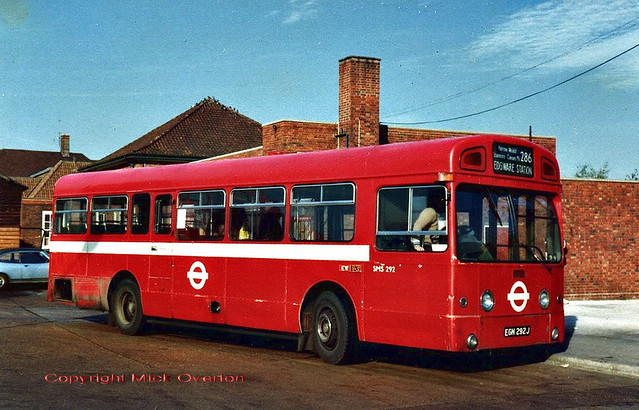 1970 AEC Swift SMS292 EGN292J 30.10.80 last week in service in UK - survives today in Malta as preserved routebus EBY589