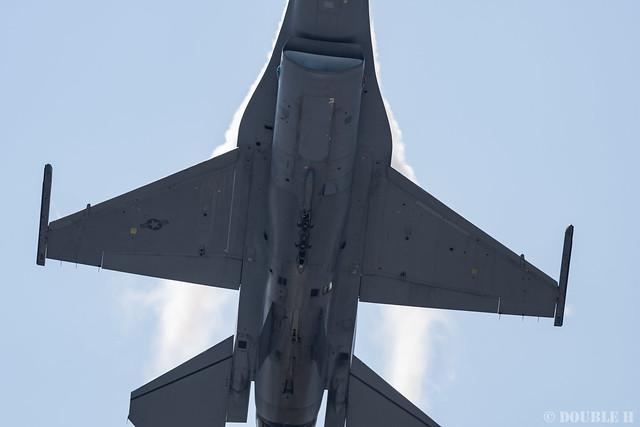 JASDF Komatsu AB Airshow 2019 (36) PACAF F-16 Demo Flight
