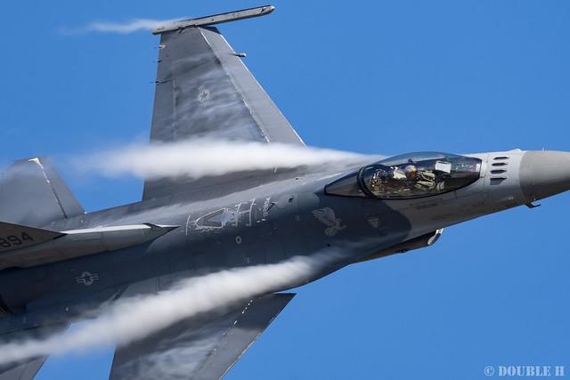 JASDF Komatsu AB Airshow 2019 (40) PACAF F-16 Demo Flight
