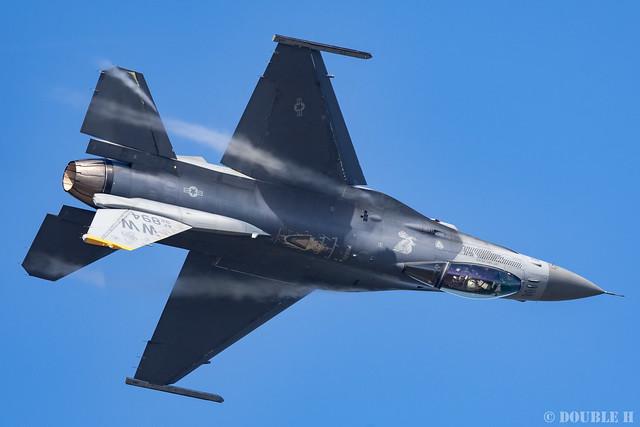 JASDF Komatsu AB Airshow 2019 (48) PACAF F-16 Demo Flight