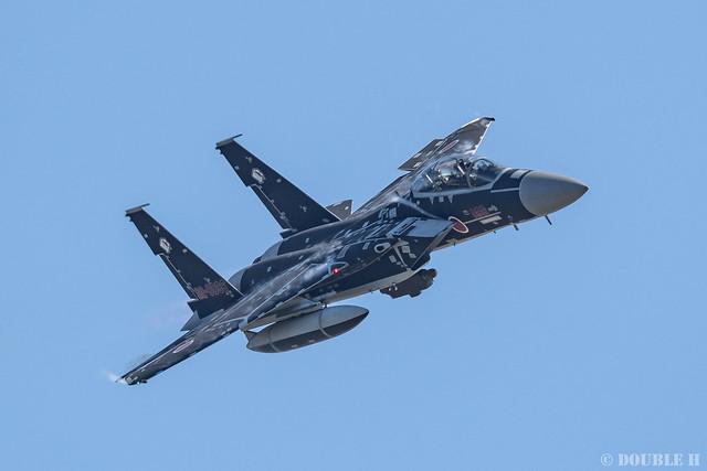 JASDF Komatsu AB Airshow 2019 (79) Maneuver Flight - Aggressor