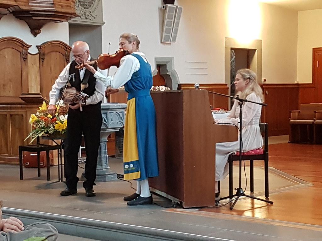 Orgelapéro am Markttag, 30.10.2019 mit Smörgåsklickarna