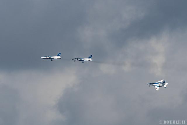 JASDF Komatsu AB Airshow 2019 (119) Blue Impulse's Aerobatics - START