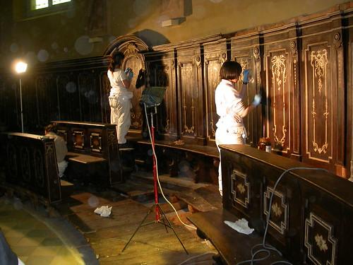 Tecnico specializzato nel restauro di arredi e strutture lignee