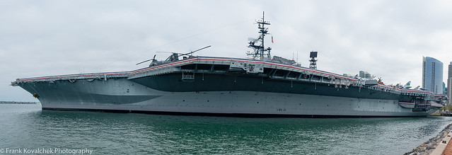 Views of the USS Midway