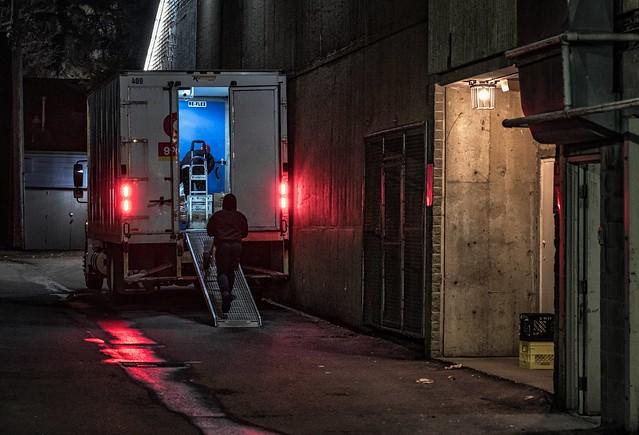 Behind the scenes, Edmonton