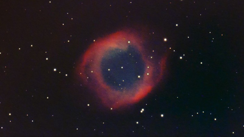 NGC7293 らせん星雲 (2019/10/4 22:10)
