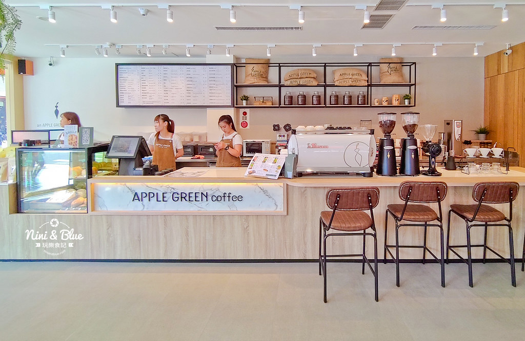 蘋果綠咖啡.學府店19