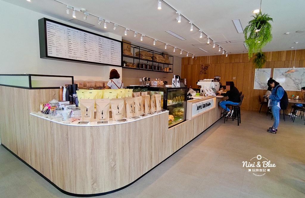 蘋果綠咖啡.學府店02
