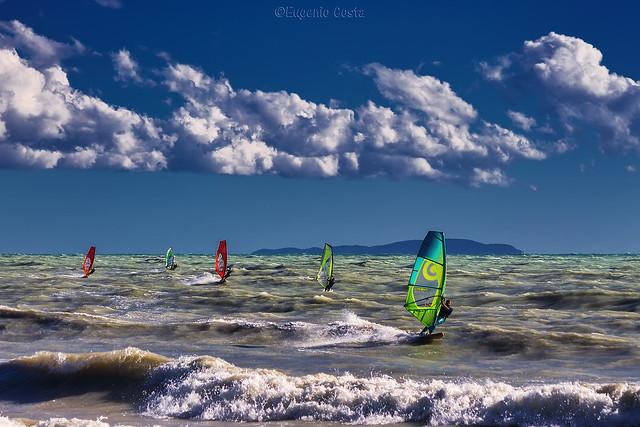 il Vento... e l'onda... Windsurf / the Wind ... and the wave ... Windsurf