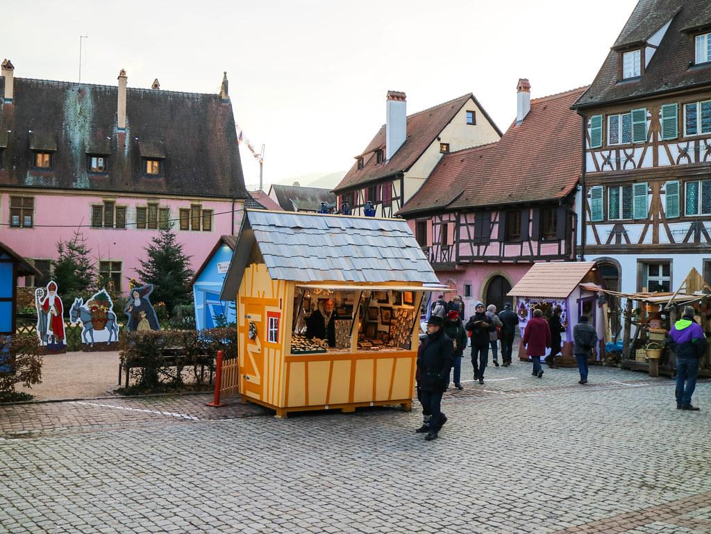 Mercadillo de Navidad en Alsacia