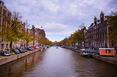 Canal shot in Amsterdam