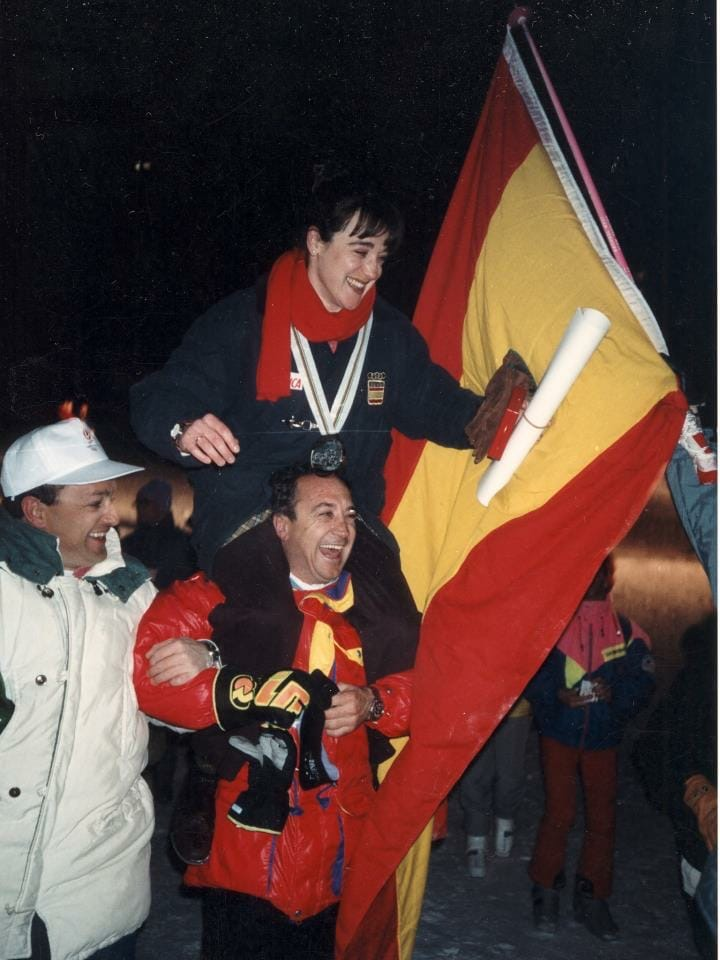 Celebración Blanca Fernández Ochoa
