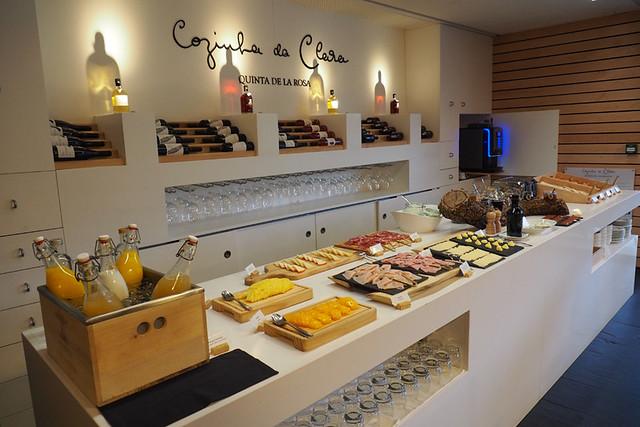 Breakfast, Quinta de la Rosa, Pinhao, Douro, Portugal