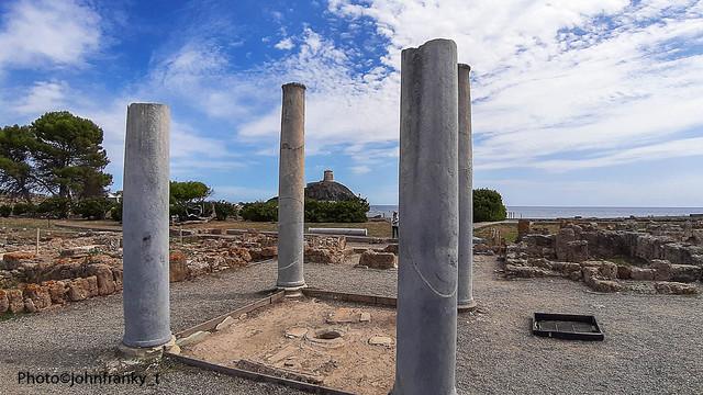 Area Archeologica di Nora-Sardegna-Italy