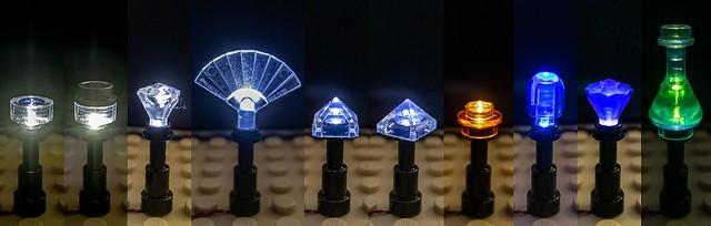 Telescope lamppost variations