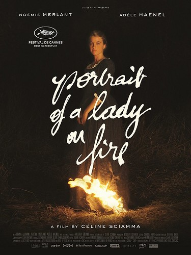 Portrait of a Lady on Fire poster v2
