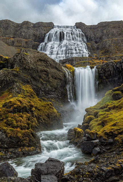 Dynjandi Waterfall - The West Fjords - Iceland