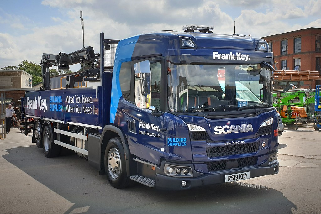 Frank Key (Group) Limited Scania vehicle supplied by Keltruck